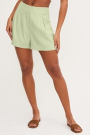 Lush Front Pleat Shorts - Other