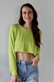 Lush Glo Kids Sweater - Front cropped