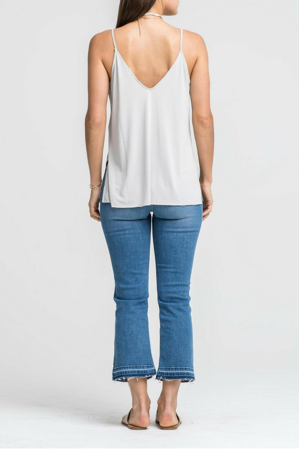 Lush Gray Cami Top - Front Full Image