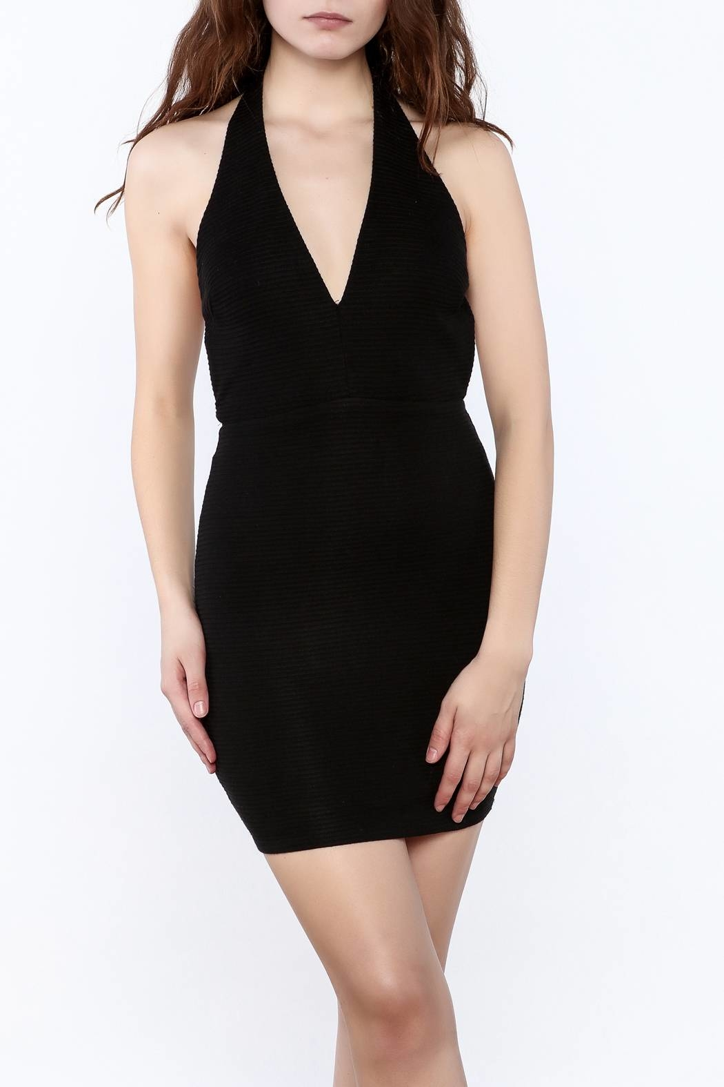 Lush Halter Mini Dress - Main Image