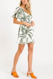 Lush Heart Of Palm Dress - Front full body