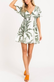 Lush Heart Of Palm Dress - Front cropped