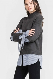 Lush Jessica Woven Sweater - Product Mini Image