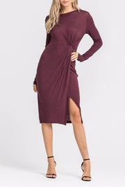 Lush Knotted Front Dress - Product Mini Image