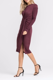Lush Knotted Front Dress - Front full body