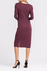 Lush Knotted Front Dress - Side cropped