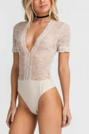 Lush Lace Bodysuit - Product Mini Image