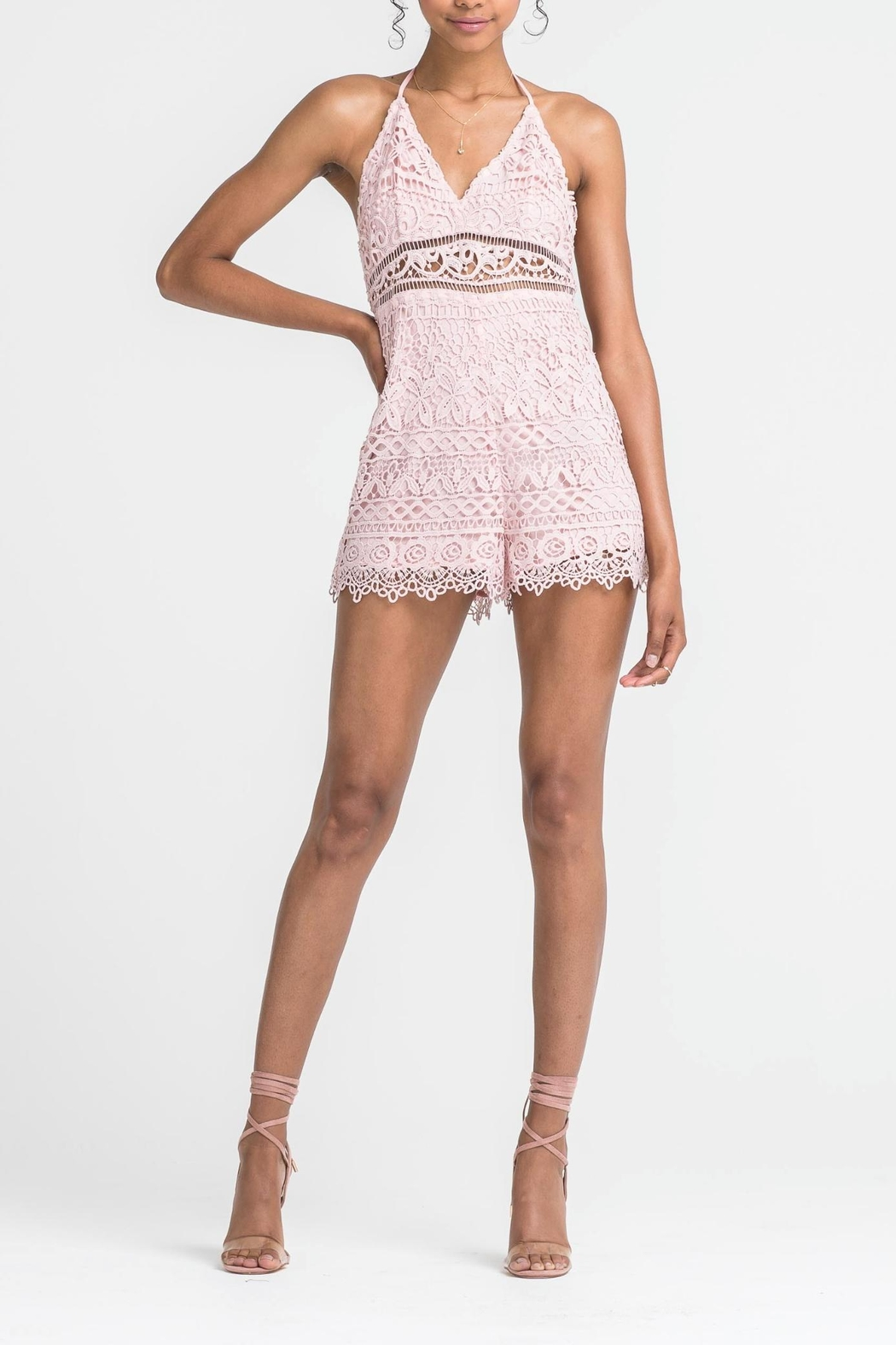 3d1e7aba3a21 Lush Lace Cut Out Romper from Florida by Apricot Lane St. Armands ...