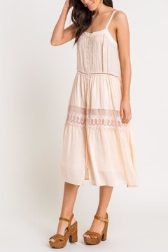 Lush Lace-Detail Midi Dress - Product List Image