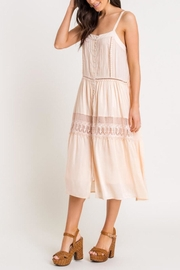 Lush Lace-Detail Midi Dress - Product Mini Image