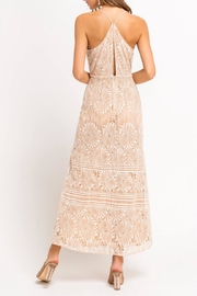 Lush Lace Slit Maxi - Front full body
