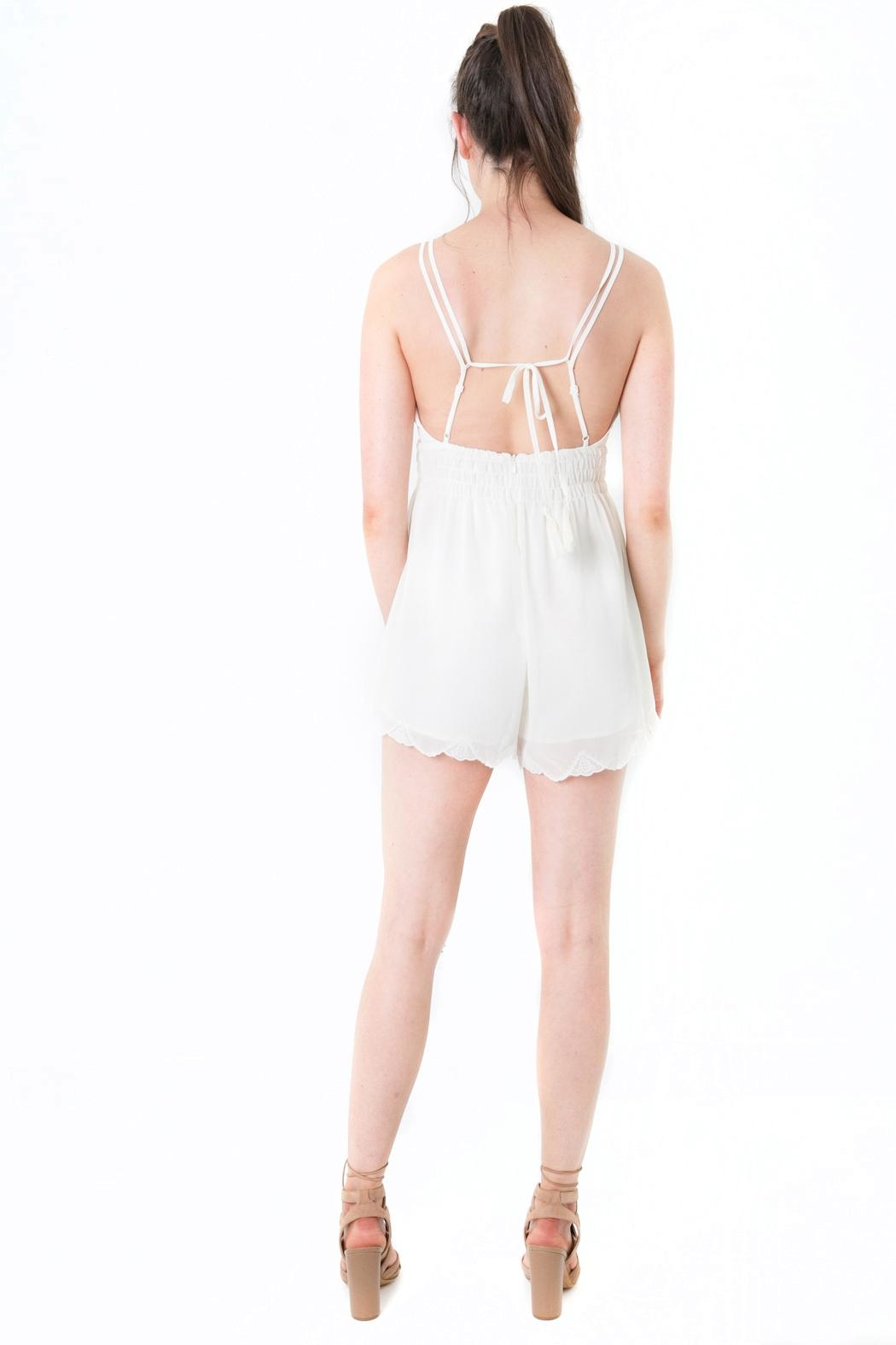 4e153244f4c Lush Lace Trimmed Romper from Colorado by Apricot Lane - Centennial ...