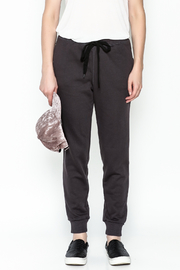 Lush Lace up Back Jogger - Front full body