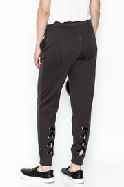 Lush Lace up Back Jogger - Back cropped