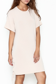 Lush Lace Up Dress - Product Mini Image