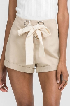 Shoptiques Product: Lace Up Shorts