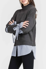 Lush Layered Turtleneck Sweater - Product Mini Image
