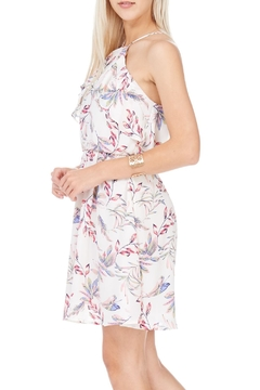Lush Leaf Pattern Halter Dress - Product List Image