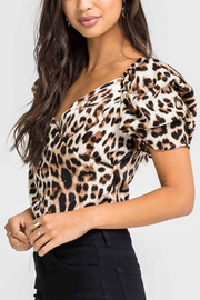 Lush Leapord Crop Top - Product Mini Image