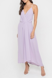 Lush Lilac Midi Dress - Product Mini Image