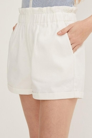 Lush Linen Paperbag Shorts - Side cropped