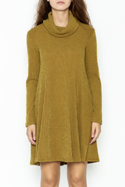 Lush Longsleeve Sweater Dress - Front full body