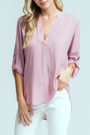 Lush Lovely Pink Blouse - Product Mini Image