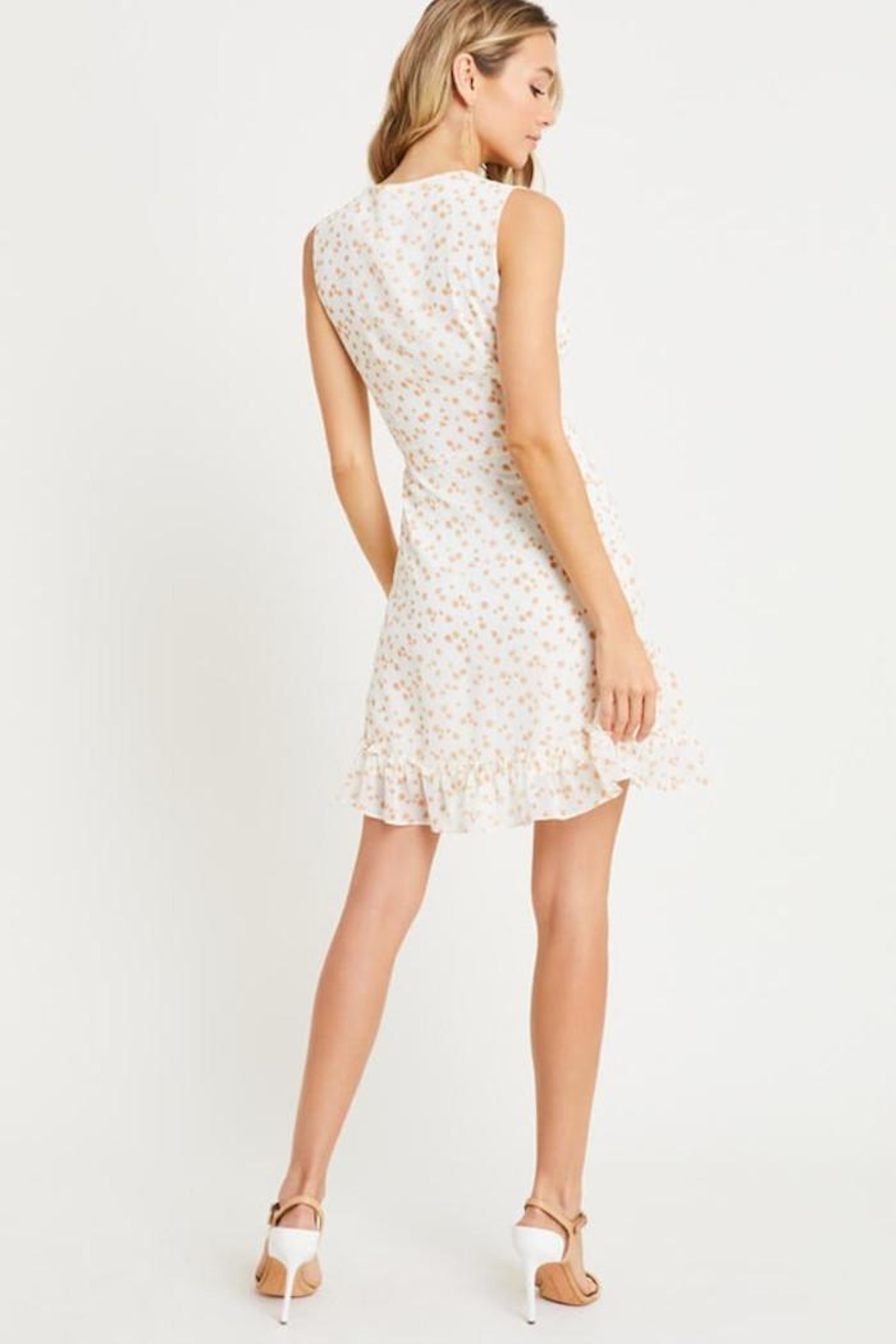 Lush May Flowers Dress - Side Cropped Image