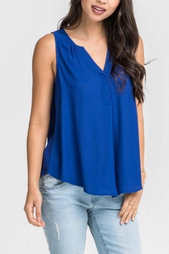 Shoptiques Product: Mazarine Blue Top