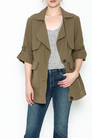 Lush Micha Olive Jacket - Product Mini Image