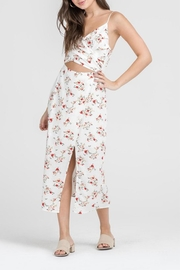 Lush Midi Floral Dress - Product Mini Image