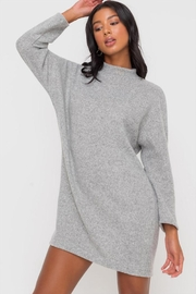 Lush Mock-Neck Dolman Dress - Product Mini Image