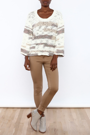 Lush Loose Knit Sweater - Front full body