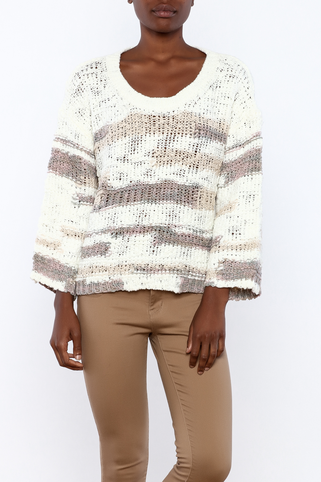 Lush Loose Knit Sweater - Main Image