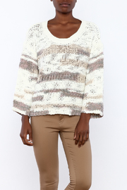 Lush Loose Knit Sweater - Front cropped
