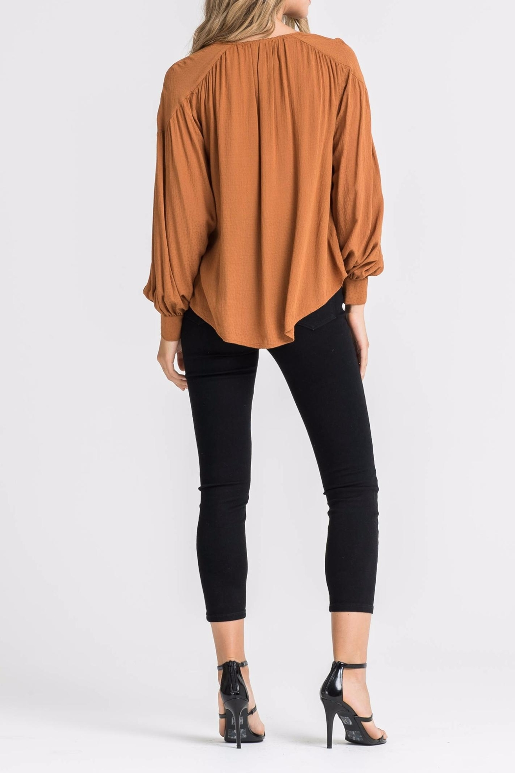 Lush Kira Blouse - Side Cropped Image