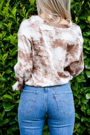 Lush Neutral Tie-Dye Top - Other