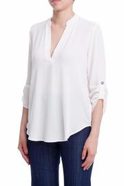 Lush Not So Basic Blouse - Product Mini Image