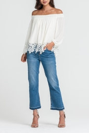 Lush Off-Shoulder Lace Top - Product Mini Image