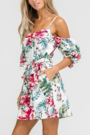 Lush Off Shoulder Romper - Product Mini Image