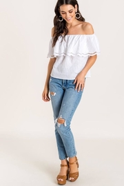 Lush Off The Shoulder - Front full body