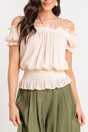 Lush Off-The-Shoulder Top - Product Mini Image