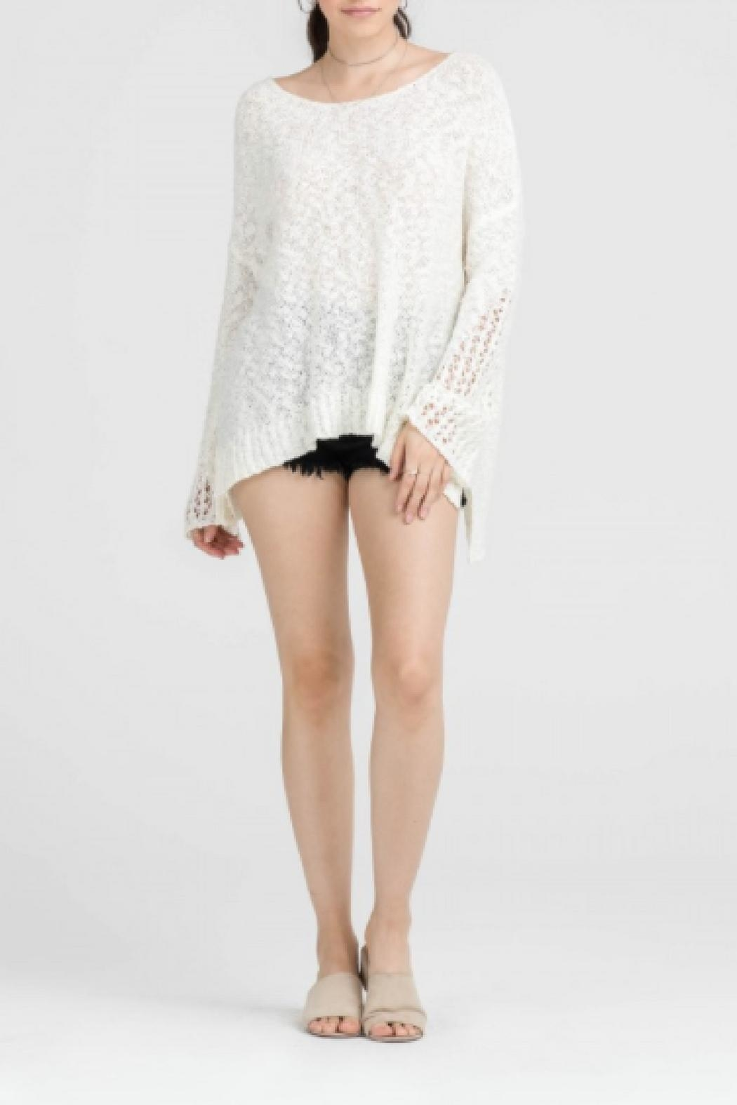 6ddbbe7326 Lush Off-White Oversized Sweater from Virginia by Sweetest Stitch ...