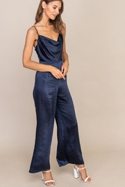 Lush Open Back Jumpsuit - Side cropped
