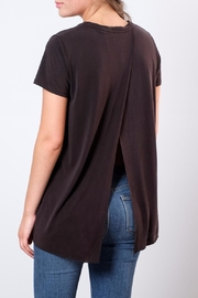 Lush Open Back Tee - Front cropped