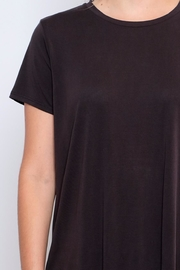 Lush Open Back Tee - Back cropped