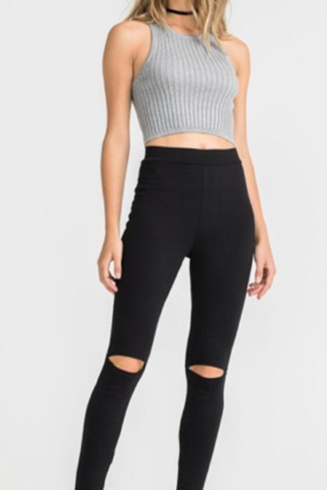 Lush Cut Out Legging - Main Image
