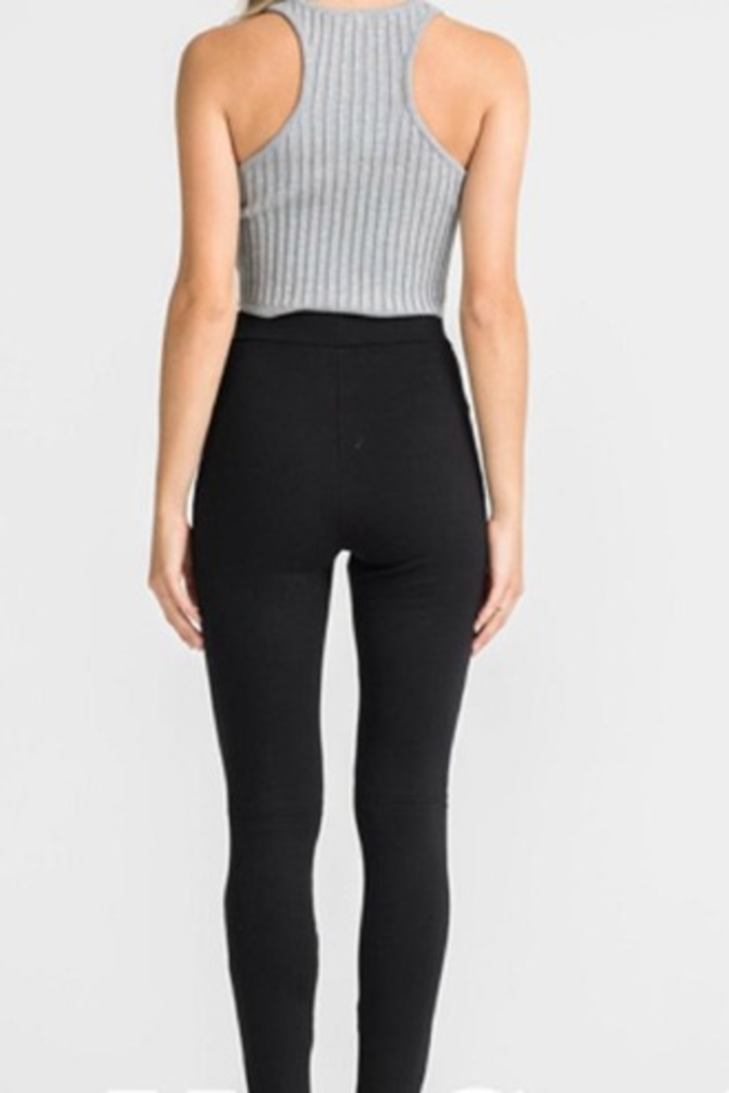 Lush Cut Out Legging - Front Full Image