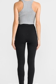 Lush Cut Out Legging - Front full body