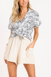 Lush Palm Of My Hand Top - Back cropped